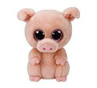 Amazon Prime : Peluche Piggley Cochon – 15 cm